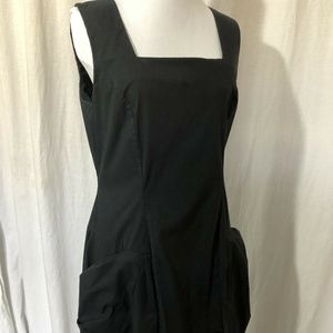 La Fee Maraboutee Size 42 Black Dress With Zipper